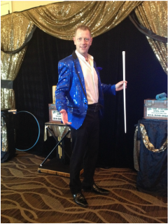 Dallas kids birthday party magicians, corporate magicians, and illusionist Kendal Kane Magic Entertainment