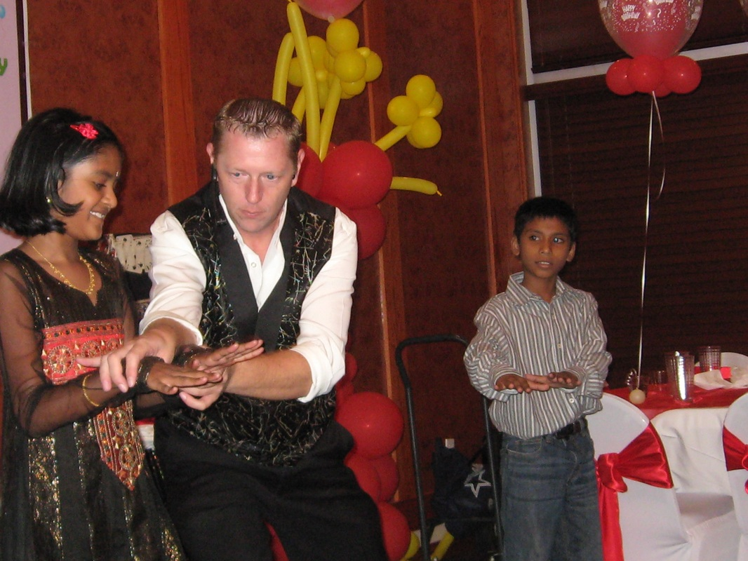 Kids entertainer Kendal Kane he brings birthday party magic shows to the entire family