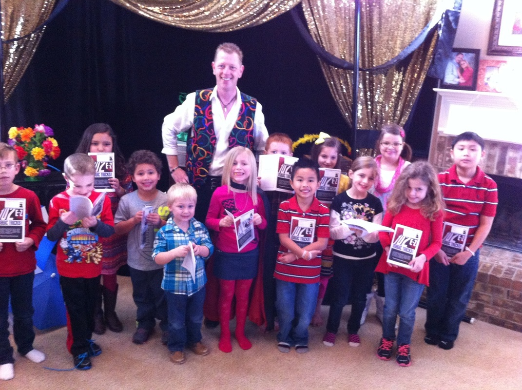 Highland Village Birthday Party Magician For Kids