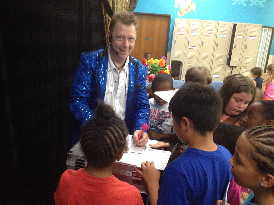 magician parties for kids in Greenville help make birthday party memories