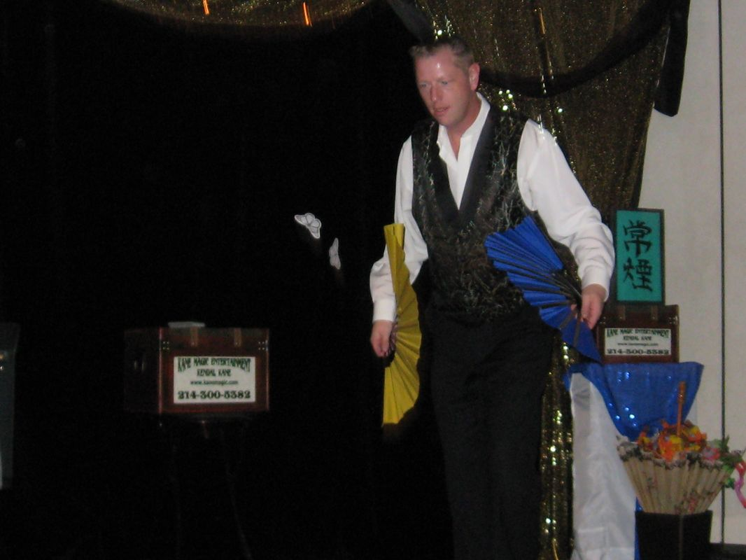 Great for corporate businesses presented by Dallas  magician Kendal Kane makes events dynamic