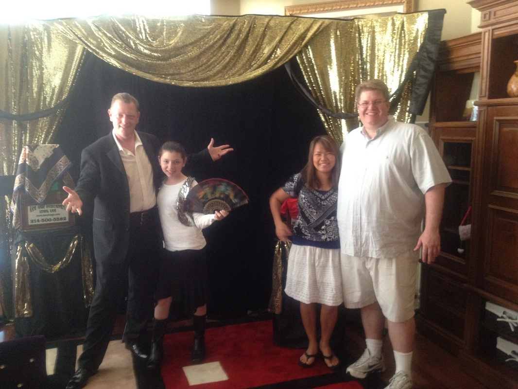 Whitewright children birthday party entertainment and magic shows for kids
